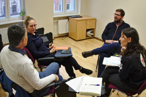Project meeting in Riga – approaching international trainer education